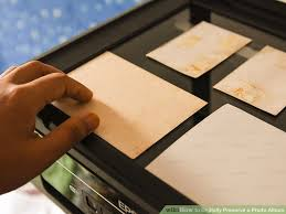 photo album sticky pages how to digitally preserve a photo album with pictures wikihow