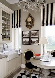 Black And White Stripe Curtains Inspiring Striped Black And White Curtains Designs With Decorating