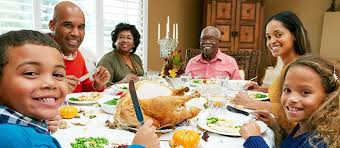 thanksgiving dinner story to 100 years b4 pilgrim