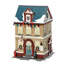 amazon com department 56 a christmas story village police station