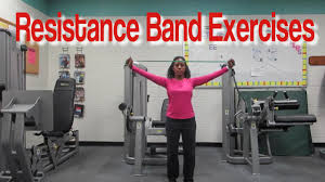 Chair Resistance Band Exercises Resistance Band Exercises For Seniors Youtube