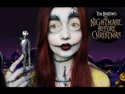 Halloween Costumes Sally Nightmare Christmas Halloween Series Nightmare Christmas Sally Makeup