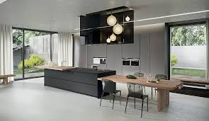 kitchen island and table modern kitchen and dining area kitchen island that offers an