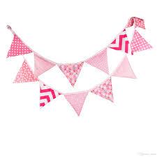 Flag Triangle 2018 Kindergarten Adornment Cotton Triangle String Flag Baby Take
