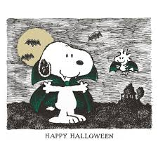 happy halloween woodstock happy halloween and snoopy
