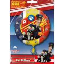 postman pat foil balloon