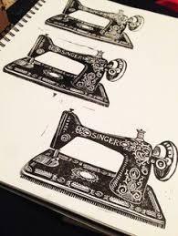 Machine Tattoo Ideas 21 Beautiful Sewing And Knitting Tattoo Designs Sewing Machine