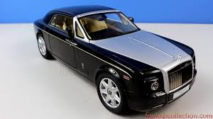 roll royce diamond rolls royce phantom coupe diamond black die cast 1 18 by kyosho