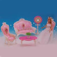 Barbie Dolls House Furniture Online Get Cheap Barbie Living Room Furniture Set Aliexpress Com