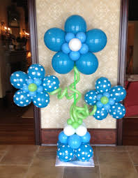 balloon centerpieces for boy baby shower sweet centerpieces