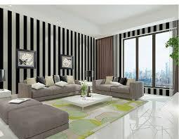 Wallpaper Livingroom by Pvc Vertical Stripes Soundproof Wallpaper Livingroom Bedroom 3d