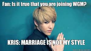 We Got This Meme - kris memes google search we got married exo pinterest exo