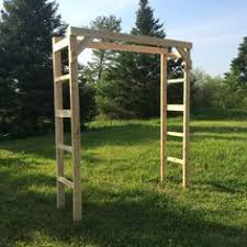Wedding Arch Ladder Rustic Wooden Ladder Arbor Three 7 Rung Ladders Diy Projects