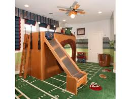 Baseball Bunk Beds Baseball Themed Bunk Bed With Slide Design Ideas Pictures