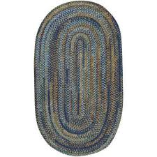 Capel Area Rug Braided Oval Capel Area Rugs Rugs The Home Depot