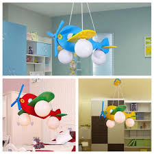 ceiling light toys for babies new 4colors fly plane light wood l lighting kid child bedroom