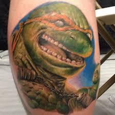 mutant ninja turtle colorful tattoo uncategorized tattoos