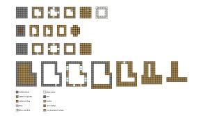 Floor Plans For Minecraft Houses Minecraft Simple House Floor Plans