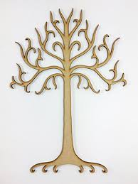 large laser cut tree of gondor lord of the rings inspired shape