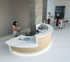 Small White Reception Desk by Reception Desks Contemporary And Modern Office Furniture