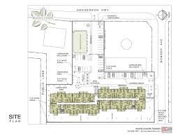 bunn u0027s creek condominiums site plan