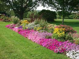flower garden border ideas landscape design