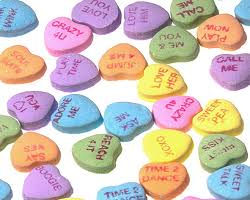 valentines heart candy sayings education world s day candy heart stories