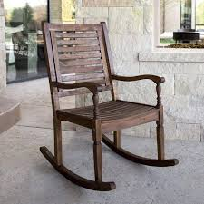 outdoor rocking chairs under 100 solid acacia wood patio rocking