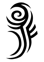 j f initial tribal about that tatt