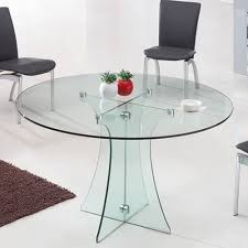 Glass Circular Dining Table Lovable Glass Circle Dining Table Modern Dining Table A