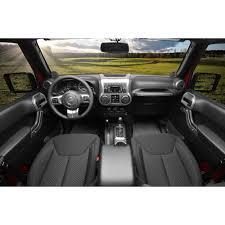 silver jeep 2 door rugged ridge 11152 90 wrangler jk interior trim accent kit brushed