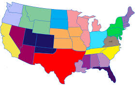 Map If Usa by If Every Us State Had The Same Population What Would The Map Of