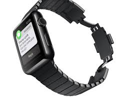 link bracelet watches images Apple watch link bracelet kit now available in space black macworld jpg