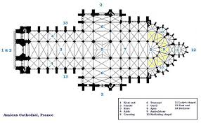 Wells Cathedral Floor Plan Floor Plan Amiens Cathedral History Gothic Pinterest