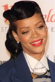 cute pin up hairstyles for black women 50s pin up hairstyles with side bangs for african american cute