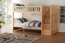 Bunk Beds Pine Charlton Pine Bunk Bed With Stairs