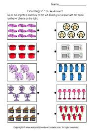 counting to 10 brain teaser worksheets 2