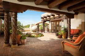 Santa Fe Style House Southwest Adobe Style Homes House Design Plans