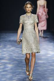 silver dresses for fall 2016 couture shows inspiration by color