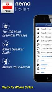 Business Cards App For Iphone Polish By Nemo U2013 Free Language Learning App For Iphone And Ipad On