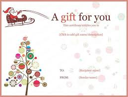 create your own voucher template free online gift certificate