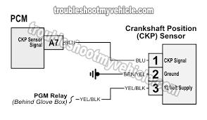 crank sensor wiring diagram 2001 2005 1 7l honda civic