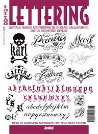 maramile lettering for tattoos