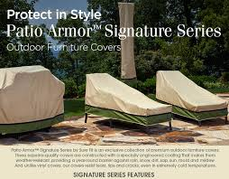 Patio Furniture Slip Covers Patio Armor Sure Fit Slipcovers