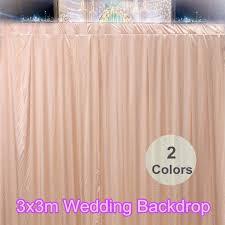 wedding backdrop accessories satin wedding stage party venue backdrop decorations photography