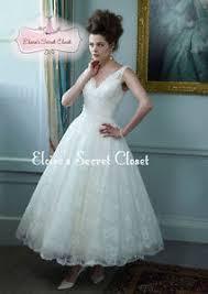 tea length wedding dresses uk darcey ivory ballerina tea length lace 50 s vintage inspired