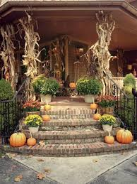 Decorations For Front Of House Best 25 Fall Porch Decorations Ideas On Pinterest Front Porch