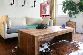 jackson coffee table from reclaimed new orleans wood