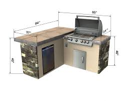 remarkable ideas outdoor kitchen dimensions amazing outdoor
