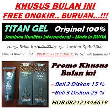 alamat toko jual titan gel asli di cirebon 087822977699